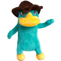 Clip-On Agent P Plush