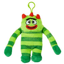 Clip-On Yo Gabba Gabba! Brobee Plush
