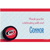 Carolina Hurricanes Custom Thank You Note