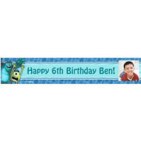 Monsters University Custom Photo Banner
