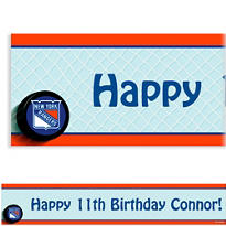 New York Rangers Custom Banner