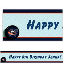 Custom Columbus Blue Jackets Banner 6ft