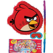 Red Angry Birds Pinata Kit