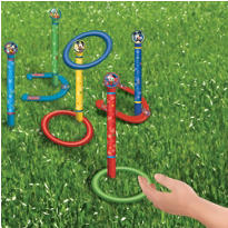 Mickey Mouse Ring Toss and Horseshoes Game