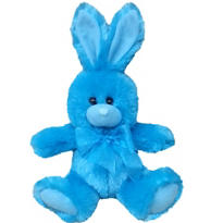 Caribbean Blue Easter Bunny Plush