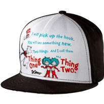 Child Thing 1 and Thing 2 Baseball Hat