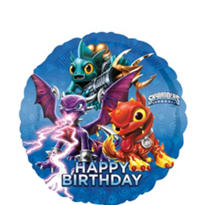 Happy Birthday Skylanders Balloon