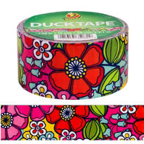 Flower Power Duck Tape