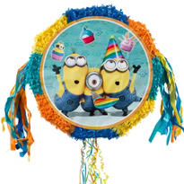 Pull String Despicable Me Pinata