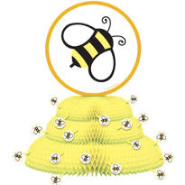 Bumblebee Honeycomb Centerpiece