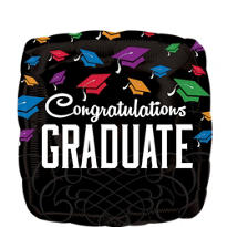 Foil Congratulations Graduate Balloon 18in