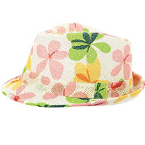 Summer Flower Fedora