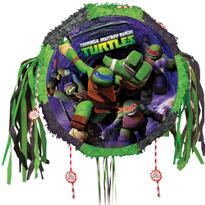 Pull String Teenage Mutant Ninja Turtles Pinata