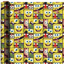 SpongeBob Gift Wrap