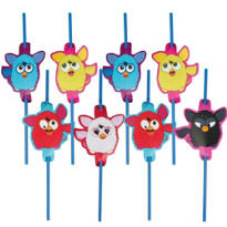 Furby Straws 8ct