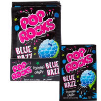 Blue Razz Pop Rocks 24ct