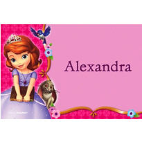 Sofia the First Custom Thank You Note