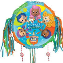 Pull String Bubble Guppies Pinata