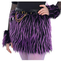 Girls Monster High Furry Skirt
