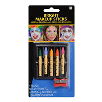 Bright Makeup Crayon Set 6pc