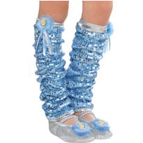 Child Cinderella Leg Warmers
