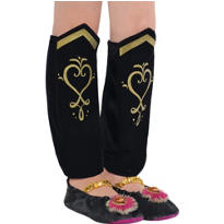 Child Anna Leg Warmers - Frozen