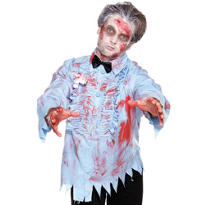 Blue Zombie Prom Shirt