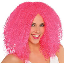 Fly Girl Hot Pink Wig