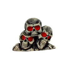 Light-Up Skulls Fog Machine Cover