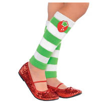 Child Strawberry Shortcake Leg Warmers