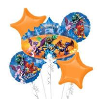 Skylanders Balloon Bouquet 5pc