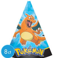 Pokemon Party Hats 8ct