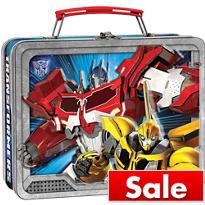 Transformers Tin Box
