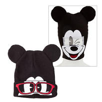 Mickey Mouse Roll-Down Mask Beanie