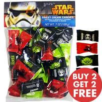 Star Wars Cream Candies