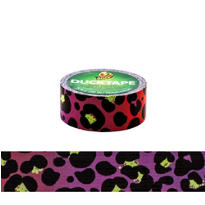 Purple Cheetah Duckling Tape