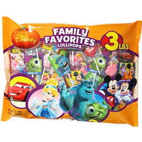 Disney Character Lollipops