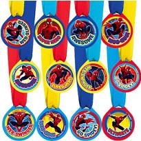 Spider-Man Award Medals 12ct