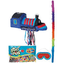 Pull String Train Pinata Kit