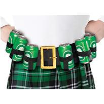 St. Patrick's Day Drinking Belt