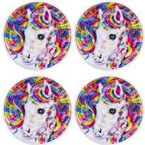 Lisa Frank Rainbow Horse Maze Puzzles 4ct
