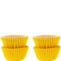 Mini Sunshine Yellow Baking Cups 100ct