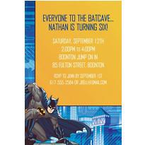 Batman Core Custom Invitation