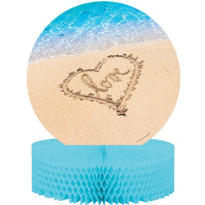 Beach Love Honeycomb Centerpiece