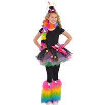 Girls Flirty Hello Kitty Costume
