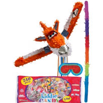 Pull String Planes Dusty Crophopper Pinata Kit