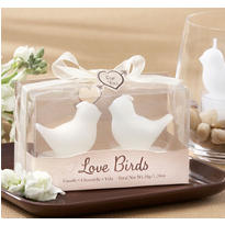 White Bird Tealight Candles