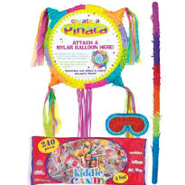 Pull String Add-a-Balloon Pinata Kit