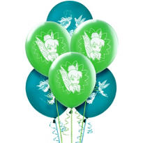 Latex Tinker Bell Balloons 12in 6ct