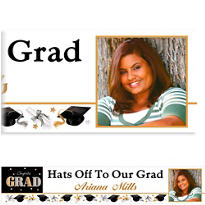 Custom Festive Grad Photo Banner 6ft